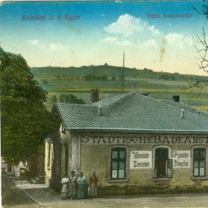 Nábřeží na dobových pohlednicích
