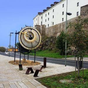 Kadaňský orloj - Pocta Mikulášovi z Kadaně